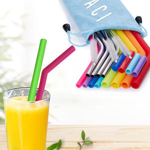 Custom reusable straws | promotional eco-friendly drink straws from Brilliant