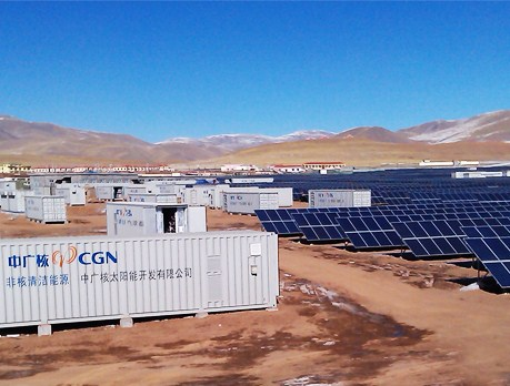 Off-grid PV Power Plant,opzv lead acid battery