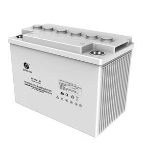 China professional FMJ Lead Acid  solar energy storing Battery exporter supplier