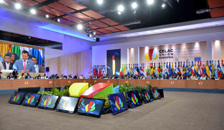 GONSIN Escorted the CELAC - European Union Ministerial Summit