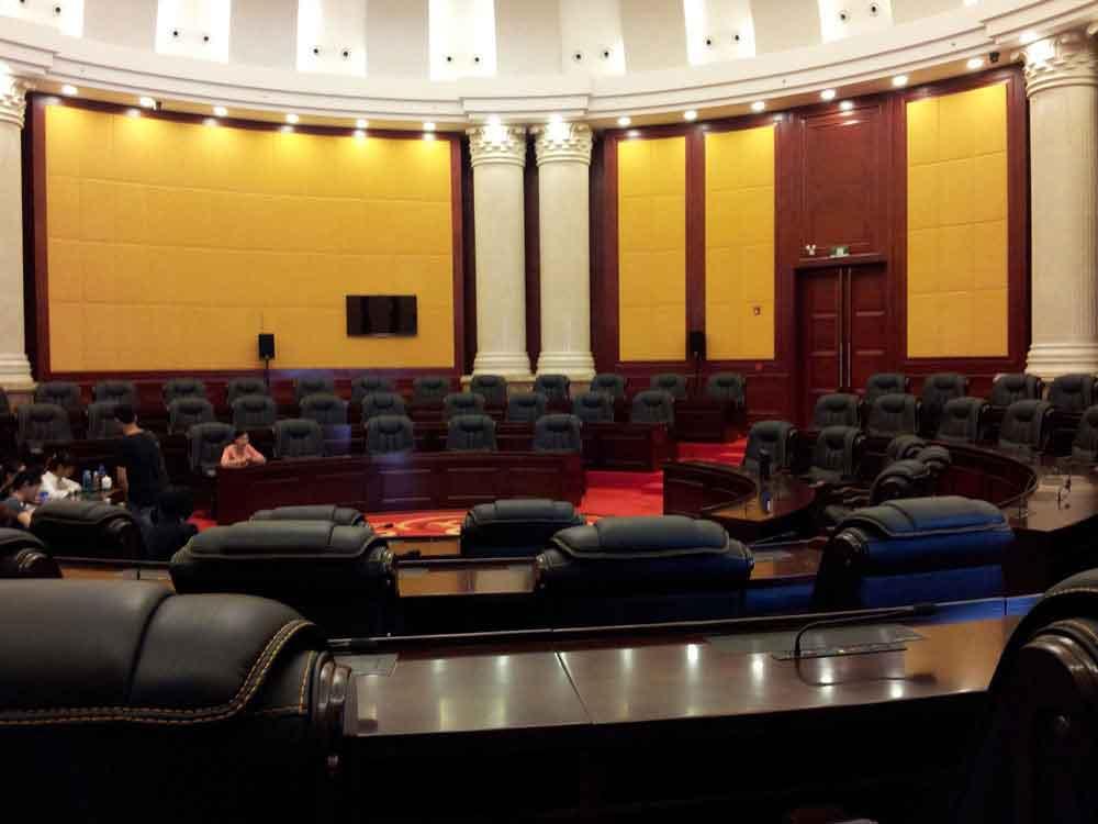 广东省茂名国际会议中心圆形会议室