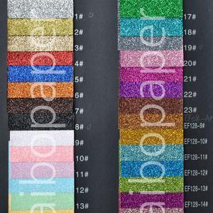 Glitter paper EF001-128