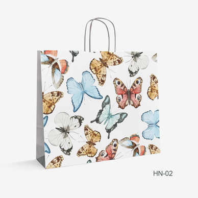 kraft bag butterfly HN-2