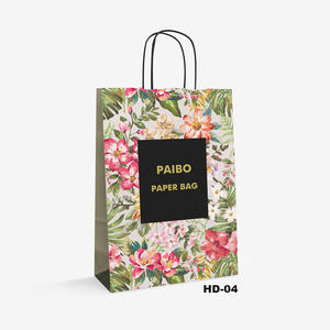 flower paper bag HD-4