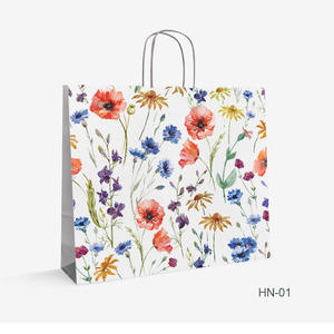 kraft bag flowers HN-1