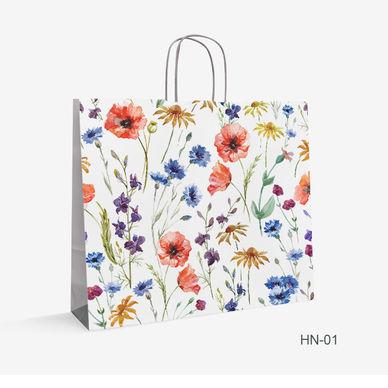 kraft bag flowers HN-1