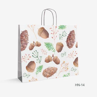 Printed Kraft bag nuts HN-14