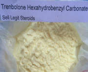 Anabolic Raw Material Trenbolone Hexahydrobenzyl Carbonate yellow powder CAS 23454-33-3