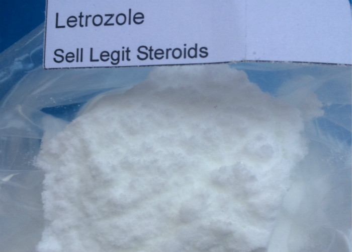 High Purity Anti Estrogen Raw Steroid Femara Letrozole Powder CAS 112809-51-5