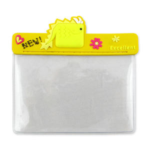Custom Plastic ID Nom d'entreprise Badge PVC Card Holders