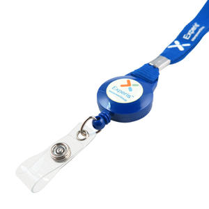 Convenient custom lanyards with badge reel