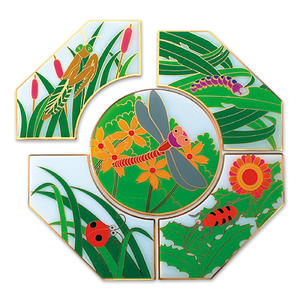 Lapel pin supplier produce puzzle pins in custom shape.
