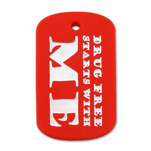 Cheap Personalized Custom Silicone Dog ID Tags for Men