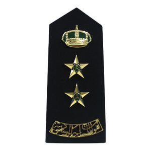 Dongguan Custom Embroidered Military Uniform Epaulettes