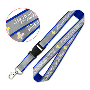 Unique reflective lanyards custom for lanyard events.