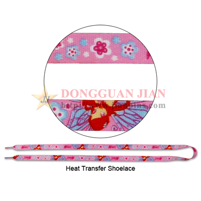 full color shoelace lanyard