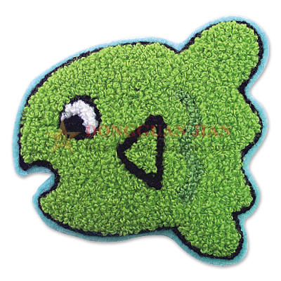 mini chenille patches