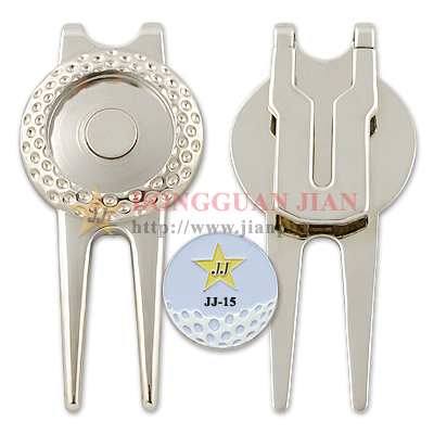 Custom Divot Tool With Ball Marker