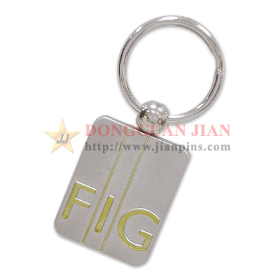 2 Tone Plating Key Rings
