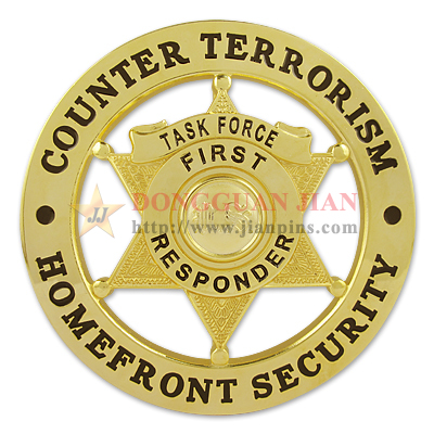 Counter Terrorism Badge