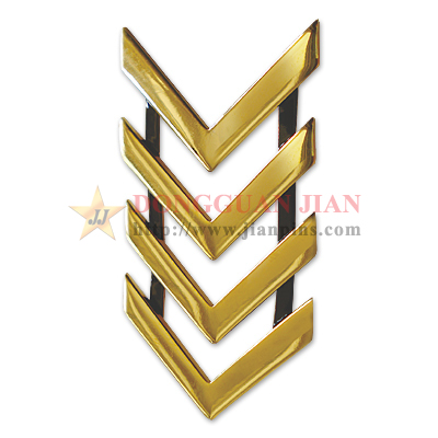 Metal Chevron Badge