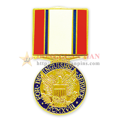 Military Soft Cloisonné Badges