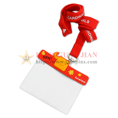 PVC ID Card Holder Lanyard