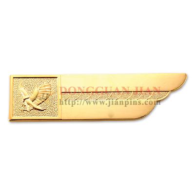 Badge en bronze estampillé