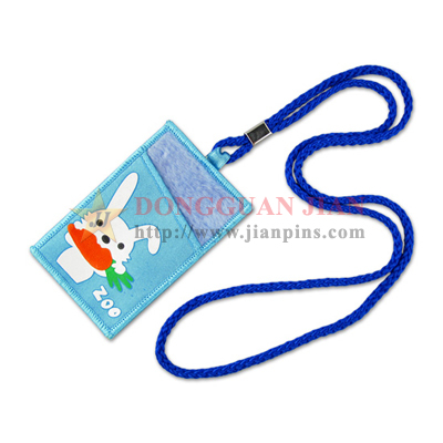 Cord Lanyard with Badge Holder