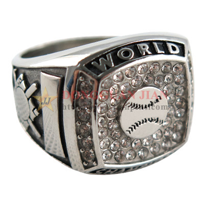 Champion Rings With Rhinestones
