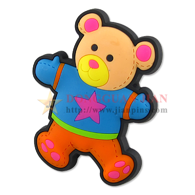 Custom PVC Bear Fridge Magnet