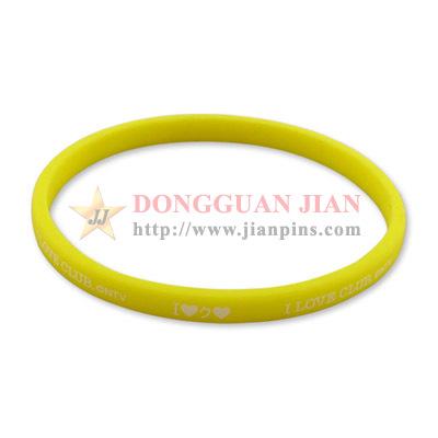 Round Silicone Wristbands