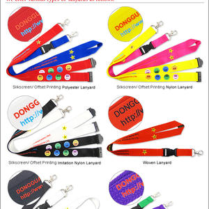 Lanyards promotionnels sur mesure en Chine