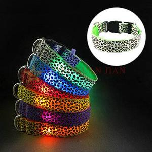 Glow fashionable collars for dogs