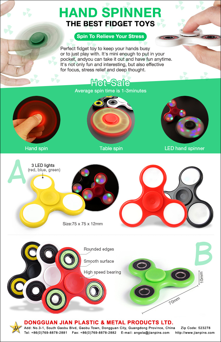 Hot-sale hand spinner toy