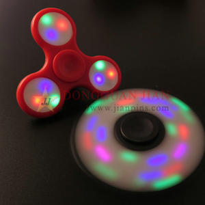 Hand spinner toys with LED light Wholesale