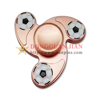 Spiral Metal finger spinner