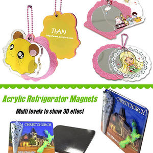 Acrylic Ornaments, Keychains, Magnets & Tags from JIAN