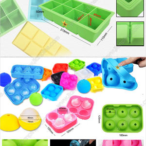 Practical Food-grade Silicone Ice Cube Trays Available in JIAN