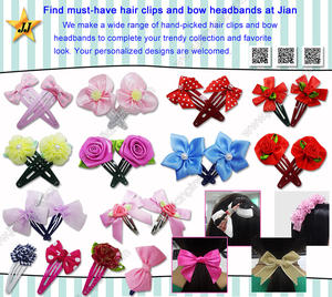 Must-Have Hair Pins und Bow Stirnbänder von JIAN