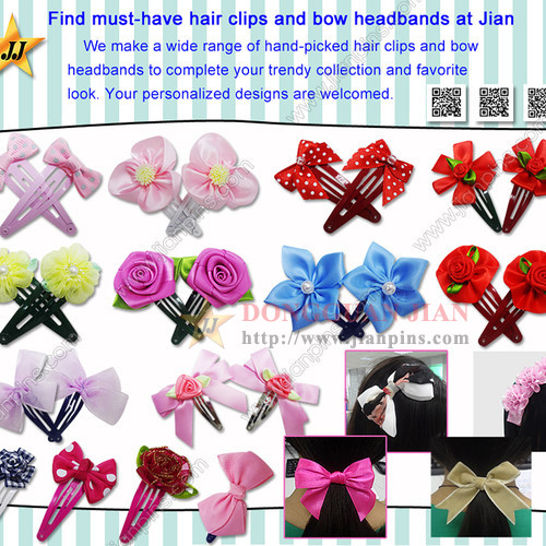 Must-Have Appealing Hair Pins And Bow Headbands From JIAN