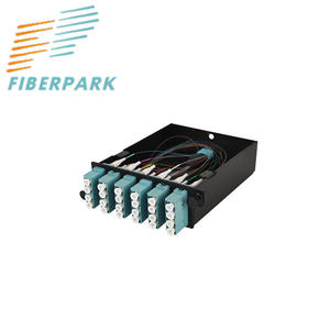 China MPO-LC 24Core Fiber Optic cassette supplier