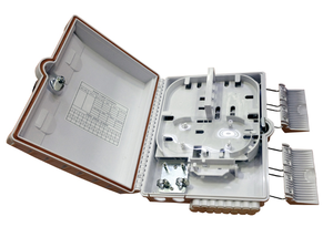 Fiber optic terminal box
