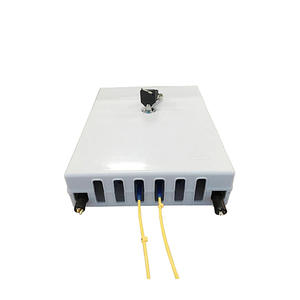 Fiber optic terminal box  is made of high-quality ABS Plastic material.