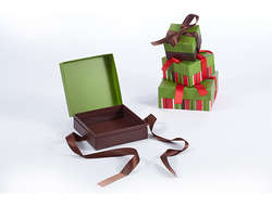 Delicate Gift Box For Chocolates & Candy On Chirstmas