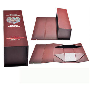collapsible box, Wine packaging, wiskey Packaging