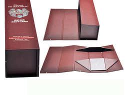 Bottom collapsible box Wine packaging