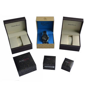 China Men's Rigid Hinged Watch box supplier