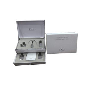 China Drawer box for Dior supplier, cosmetic box packaging supplier