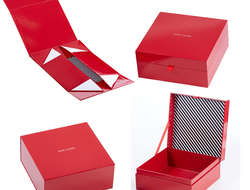 ESTEE LAUDER paper make up box